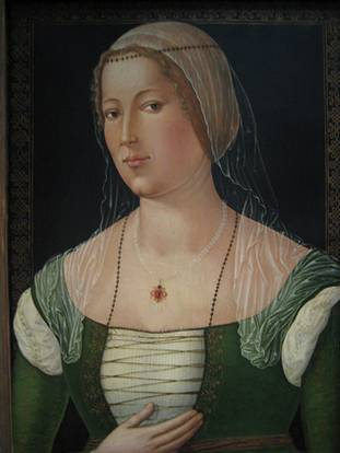 A Woman, ca. 1508 (Girolamo di Benvenuto) (1470-1525) Location TBD