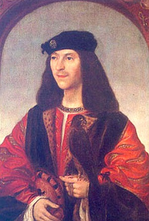 James IV Stewart, King of Scotland, ca. 1500 (Unknown Artist) Location TBD