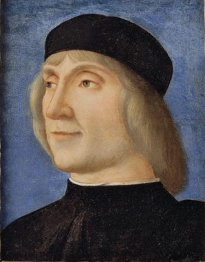 A Man, ca. 1500 by Giovanni Mansueti, fl. 1485-1526 Portland Art Museum, OR