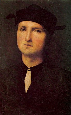 A Man, ca. 1500 (attributed to Pietro Perugino) (1446-1524) The State Hermitage Museum, St. Petersburg
