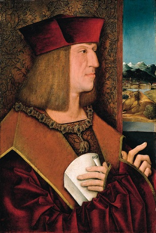 Maximilian I, ca. 1500-1510 (Bernhard Strigel) (1460-1528) Christie's Auction House, Sale 5823, Lot 31