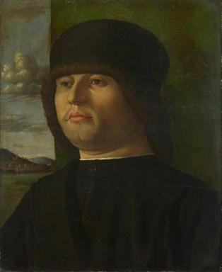 A Man, ca. 1500 by an unknown Venetian artist National Gallery, London NG2095