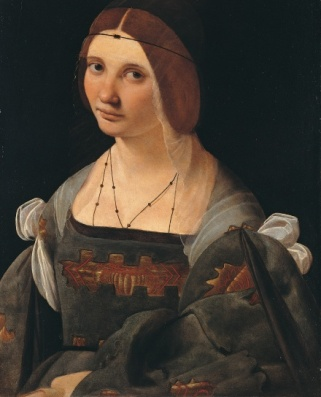 Woman, ca. 1500 by Giovanni Antonio Boltraffio, 1467-1516 Lichtenstein Museum