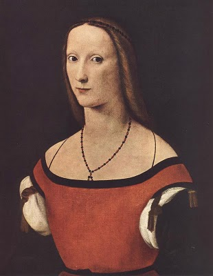 A Woman, ca. 1500-1510 by Lorenzo Costa, 1460-1535 Location TBD