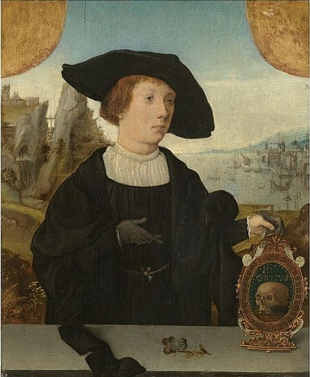A Young Man, ca. 1520 (Jan Mostaert) (1475-1556) Location TBD