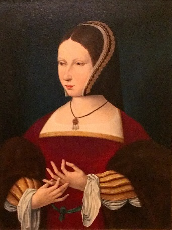 A Lady, ca. 1525 (Unknown Netherlandish Artist) Allentown Art Museum, PA, Kress Collection, 1961.50