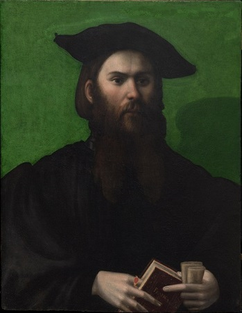 A Man at 28 years old, 1526 (Parmigianino) (1503-1540) Trinity House Gallery, London