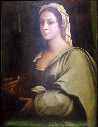Vittoria Colonna, ca. 1520 (attributed to Sebastiano del Piombo) (ca. 1485-1547)  Location TBD