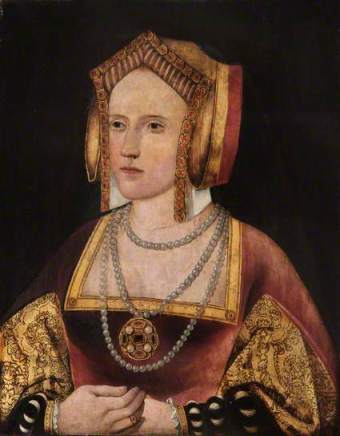 Catherine of Aragon? ca. 1527 by an Unknown Artist Lambeth Palace, London