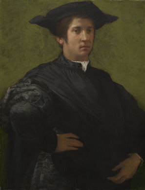 A Man, early 1520's (Rosso Fiorentino) (1494-1540) National Gallery of Art, Washington, D.C. 1961.9.59