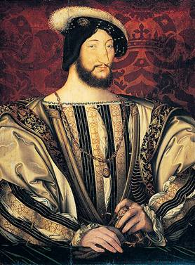 Francis I King of France at 31, ca. 1525 (Jean Clouet) (1480-1541) Location TBD