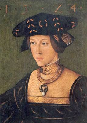 Mary of Austria at around 20 years old, ca. 1525 (Hans Krell) (1500-1586) Location TBD