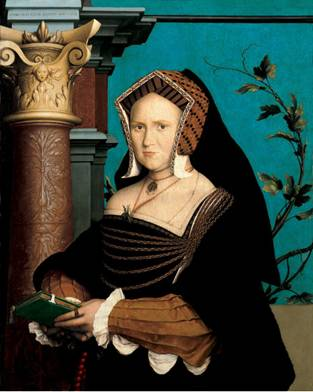 Mary Wooten, Lady Guildford, 1527 (Hans Holbein the Younger) (1497-1543) St. Louis Art Museum 1:1943