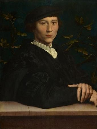 Derich Born, 1533 (Hans Holbein the Younger) (1497-1543)  Royal Collection Trust, UK, RCIN 405681