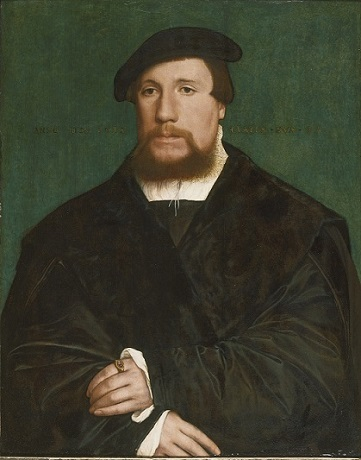 A Hanseatic Merchant, 1538 (Hans Holbein the Younger) (1497-1543) Yale University Art Gallery, New Haven, CT, 1977.187