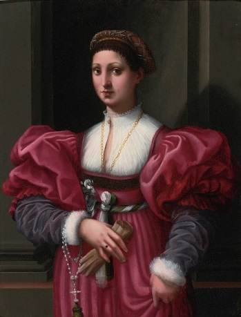 A Lady, ca. 1530 (attributed to Vincenzo Tamagni) (1497-1530)  Sothebys Old Masters, 29 January, 2015, Lot 136