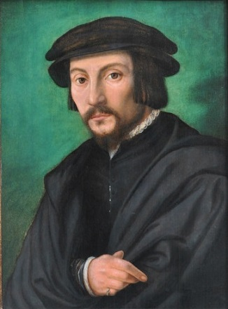 A Man, ca. 1530 -1540 (circle of Adriaen Isenbrandt/Ambrosius Benson)  Jean Moust Gallery, Bruges