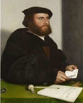 Hans of Antwerp, 1532(Hans Holbein the Younger)    (1497-1543)  The Royal Collection, Windsor