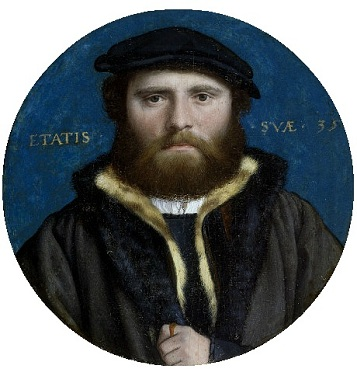 Hans of Antwerp, 1532(Hans Holbein the Younger)    (1497-1543)   Victoria and Albert Museum, London, P.158-1910