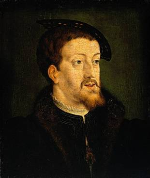 Charles V at about 30 years of age ca. 1530   Jan Cornelisz Vermeyen      1500-1559  Location TBD