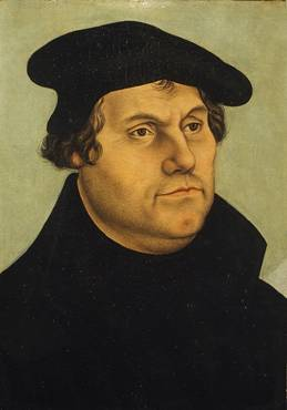Martin Luther,  ca. 1532   (workshop of Lucas Cranach the Elder) (1472-1553)   The Metropolitan Museum of Art, New York, NY   55.220.2