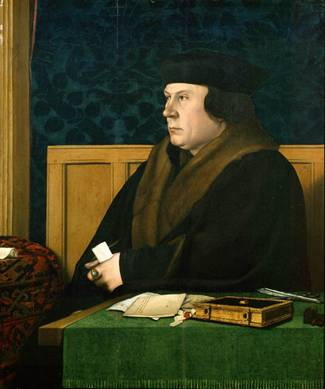 Thomas Cromwell, ca. 1533   (Hans Holbein the Younger) (1497-1543)       The  Frick Collection,  New York, NY   1915.1.76