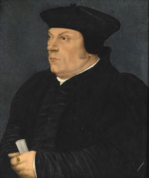 Thomas Cromwell, ca. 1533   (Hans Holbein the Younger) (1497-1543)   Indianapolis Museum of Art, IN  C10048