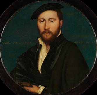 A Man, 1535  (workshop of Hans Holbein the Younger)(1497-1543) The Metropolitan Museum of Art, New York, NY     49.7.28