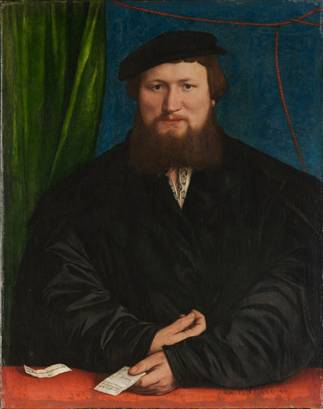 Derek Berck at 30 years old,  1536  (Hans Holbein the Younger) (1497-1543)   The Metropolitan Museum of Art, New York, NY    49.7.29