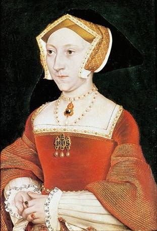 Jane Seymour, ca. 1537   (Hans Holbein the Younger)    (1497-1543)     Mauritshuis, Den Haag