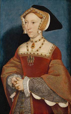 Jane Seymour, ca. 1536-37 (Hans Holbein the Younger)  (1497-1543)   Kunsthistorisches Museum, Wien