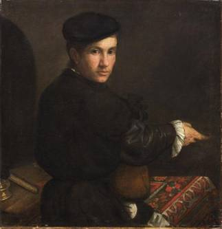 A Young Man, ca. 1537   (Jacopo Bassano) (1510-1592) Kunsthistorisches Museum, Wien GG_6486