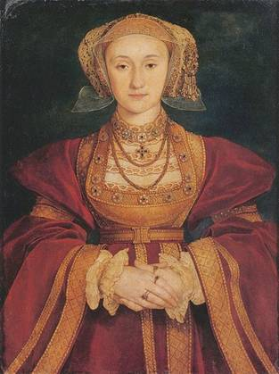 Anne of Cleves, ca. 1539   (Hans Holbein the Younger) (1497-1543) Museo Thyssen-Bornemisza, Madrid