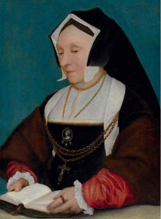 Lady Alice More ca. 1530  studio of Hans Holbein the Younger 1497-1543 Weiss Gallery London
