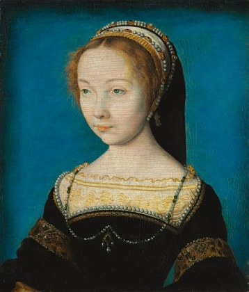 A Young Woman, ca. 1540 (Corneille de Lyon) (1500-1575)   Cleveland Museum of Art, OH,  1942.48