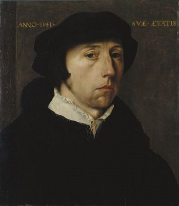 A Man, 1541 (Master of the 1540's, previously attributed to Jan van Scorel) Fogg Museum, Harvard University, Cambridge, MA, 2001.169