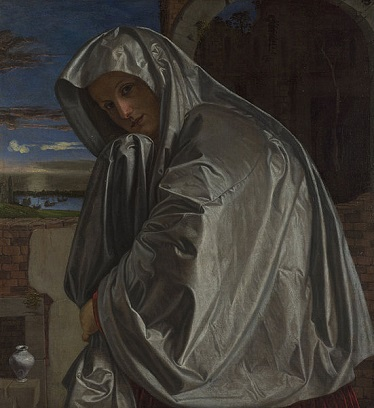 AWoman as Mary Magdalene, ca. 1535-1540 (Giovanni Savoldo) (1480-1548) The National Gallery, London, NG 1031