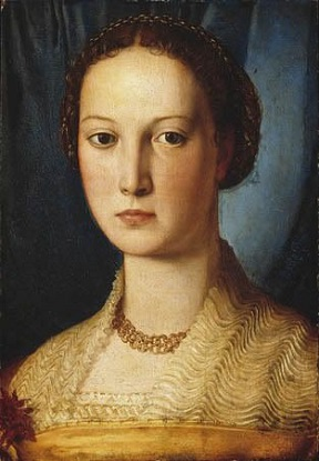 A Young Woman, ca. 1545 (attributed to Agnolo Bronzino) (1503-1572) Location TBD