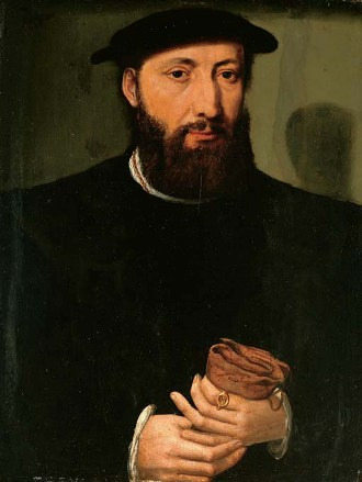 A Bearded Man, ca.  1545 (Antwerp Master of the 1540