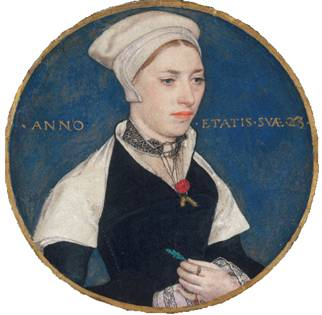 Jane Small (née Pemberton), ca. 1540 (Hans Holbein the Younger (1497-1543) Victoria and Albert Museum, London