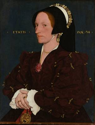 Margaret Wyatt, Lady Lee, ca. 1540 (copy after Hans Holbein the Younger (1497-1543) The Metropolitan Museum of Art, New York, NY 14.40.637