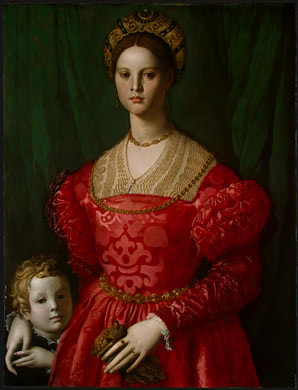 A Woman and Boy, ca. 1540 (Agnolo Bronzino) (1503-1572) National Gallery of Art, Washington D.C. 1942.9.6