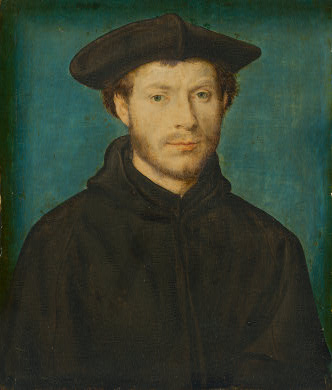 A Man, ca. 1540   (Corneille de Lyon) (fl. 1534-1574)National Gallery of Art, Washington D.C. 1965.8.1