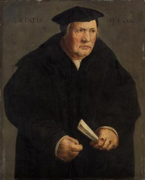 Martin Luther? at 63 years old, ca. 1540 (Unknown Swabian Master ) Kunsthistorisches Museum, Wien GG_6048