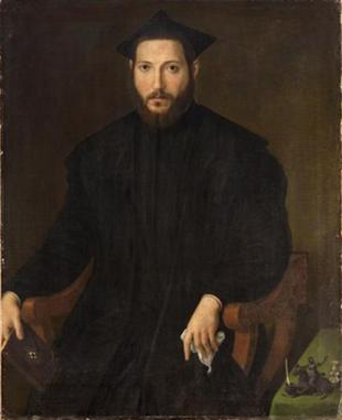 A Man, ca. 1540 (Unknown Artist, Lombard/Bergamo?) The Metropolitan Museum of Art, New York, NY 91.26.2