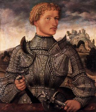 A Knight of the Rehlinger Family, ca. 1540 (Unknown German Master) Staatliche Museen zu Berlin