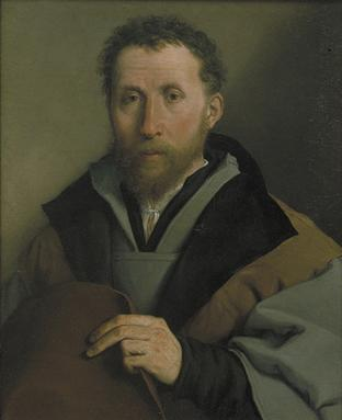 A Man, 1541 (Lorenzo Lotto) (1483-1556) NGCO  Location TBD