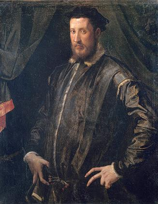 A Man, 1541   (Francesco Salviati)  (1510-1563)   The Metropolitan Museum of Art, New York, NY      45.128.11