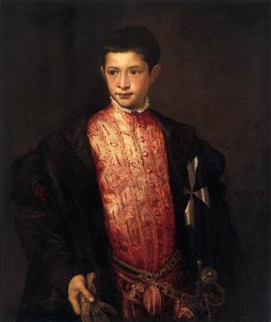 Ranuccio Farnese, 1542  (Titian) (1488-1576)   National Gallery of Art, Washington D.C.