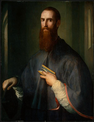 Monsignor della Casa, ca. 1541-1544 (Pontormo)  (1494-1557)  National Gallery of Art, Washington D.C.  1961.9.83